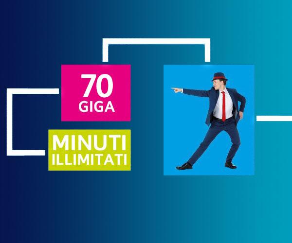 Passa a TIM Wonder One Per te 70 Giga e Minuti Illimitati a 7,99€ al mese