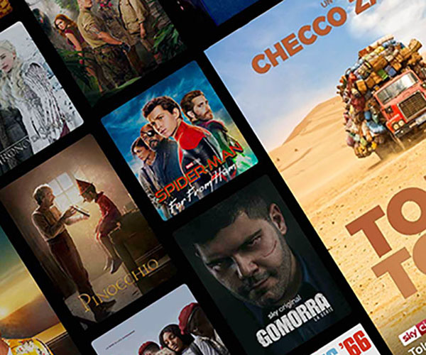 Offerta Cinema e Entertainment a 3euro per il primo mese