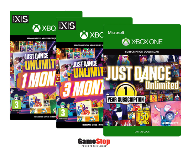 Gamestop abbonamento Just Dance Unlimited