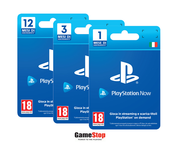 Gamestop offerte abbonamento PS NOW
