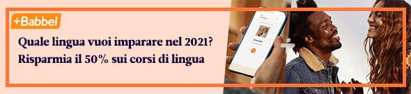 Quale lingua vuoi imparare nel 2021?