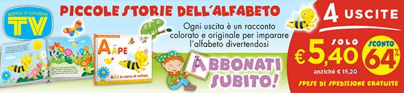 PICCOLE STORIE DELL'ALFABETO