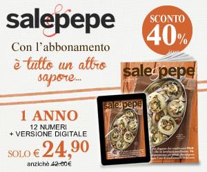 Abbonati a Sale&Pepe