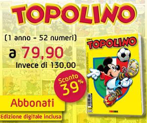 Abbonati a Topolino!