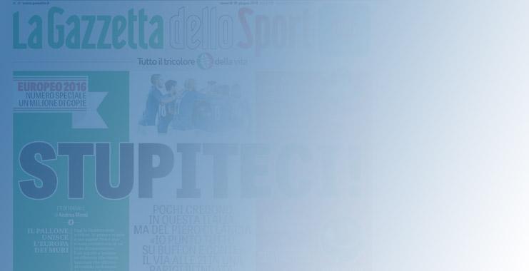"""<span class=""""title""""style=""""font-size: 18px; line-height: 17px;"""">Abbonati a La Gazzetta dello Sport</span>  <br>  <span class=""""reg""""style=""""font-size: 14px; line-height: 17px;"""">La Rosa si tinge d'Azzurro!</span>"""