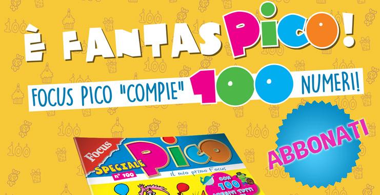 "<span class=""title""style=""font-size: 18px; line-height: 17px;"">FantasPICO 100!</span>  <br>  <span class=""reg""style=""font-size: 14px; line-height: 17px;"">Focus Pico ""compie""100...numeri!</span>"